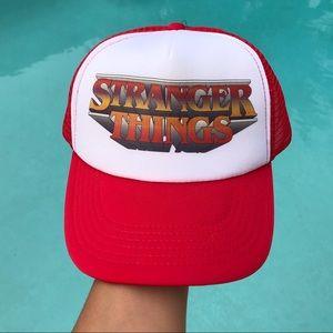 Stranger Things Trucker Hat 🧢